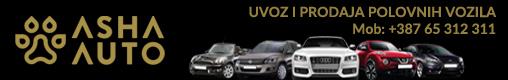 ASHA prodaja vozila